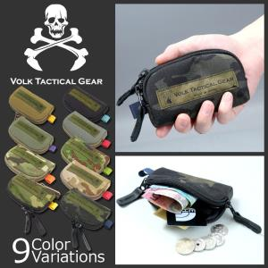 VOLK TACTICAL GEAR(ボルク タクティカル ギア) COIN CASE コインケース レターパック360対応|swat