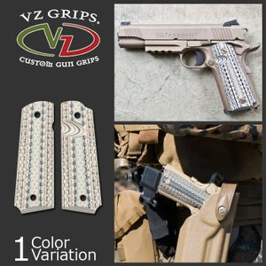 VZ GRIP 1911フルサイズ用 Diamond Back MARSOC G10 グリップ DB-MARSOC-BEV-TN-A|swat