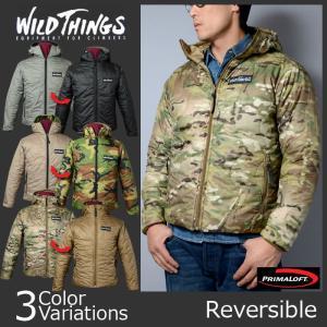 WILD THINGS(ワイルドシングス) HOODED PRIMALOFT JACKET フーデッド プリマロフトジャケット 14FWWT010016|swat