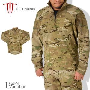 WILD THINGS(ワイルドシングス) ハイブリッド コンバットソフトシェル - SO 1.0 マルチカム50161WTI|swat
