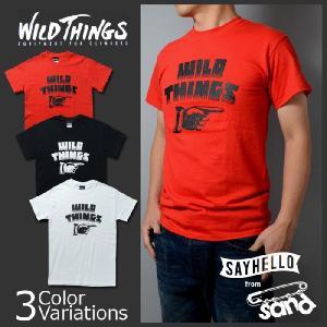 "WILD THINGS(ワイルドシングス) 半袖プリントTシャツ""FINGER(フィンガー)"" 14FWWT040030|swat"
