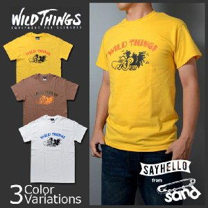 "WILD THINGS(ワイルドシングス) 半袖プリントTシャツ""VULTURE(バルチャー)"" 14FWWT040031|swat"