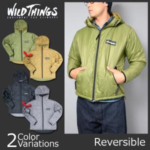 WILD THINGS(ワイルドシングス) HOODED PRIMALOFT JACKET フーデッド プリマロフト ジャケット WT010076|swat