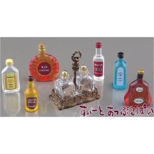 ミニチュア 【ロイターポーセリン】 ボトルセット RP1846-8 ドールハウス用