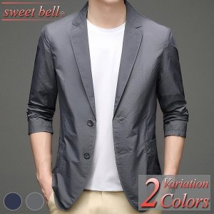 ジャケット メンズ 春 夏 秋 ビジネス カジュアル サマージャケット テーラードジャケット ブレザー クールビズ 大きいサイズ 3L 4L 小さいサイズ SS XS|sweet-bell