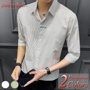 カジュアルシャツ メンズ シャツ 半袖 柄 夏 おしゃれ 白シャツ オックスフォード シャツ ボタン...