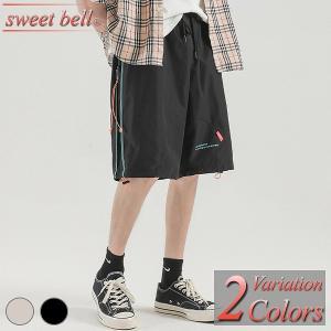 ハーフパンツ メンズ 春 夏 おしゃれ ハーフ ショート スウェット 大きいサイズ クロップドパンツ アンクルパンツ チノパン カーゴパンツ sweet-bell