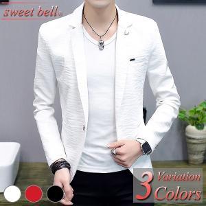 ジャケット メンズ 夏 サマージャケット テーラード クールビズ メッシュ 涼しい 長袖 半袖 大きいサイズ きれいめ おしゃれ シングル ビジネス カジュアル|sweet-bell