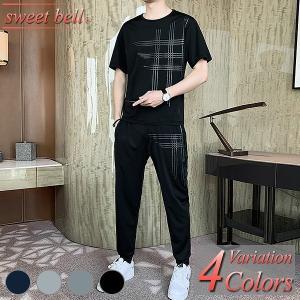 セットアップ メンズ 半袖 春 夏 上下 セット パーカー ハーフ パンツ スウェット 部屋着 大きいサイズ 3L 4L 小さいサイズ XS SS ジップアップ プルオーバー|sweet-bell