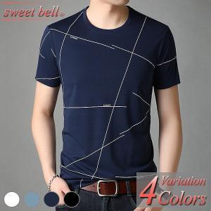 カットソー メンズ Tシャツ 半袖 Vネック クルーネック 五分袖 七分袖 柄 大きいサイズ おしゃれ 夏 パーカー アメカジ ボーダー ロゴT ラグラン プリント|sweet-bell