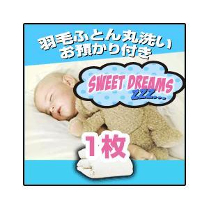 羽毛布団 羽毛ふとん クリーニング丸洗い+冬まで預かり保管サービス 1枚コース|sweet-dreams
