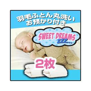 羽毛布団 羽毛ふとん クリーニング丸洗い+冬まで預かり保管サービス 2枚コース|sweet-dreams