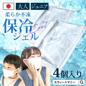 保冷剤 マスク 用 4個セット 日本製 ミニ 10g 7g 3点までメール便可 不凍タイプ 夏用 マ...