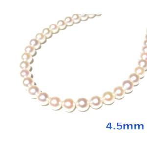 【限定2個】貴重な細身!照りアリベビーパールアコヤ本真珠K18YG約3.5mm/4.5mmパールネックレス【6月の誕生石】【あこや真珠,和珠,本真珠】|sweet-p