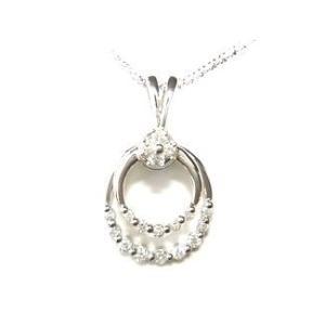 【予約】【定番スイング】動きあるジュエリー計0.50ctダイヤモンドペンダントトップ|sweet-p