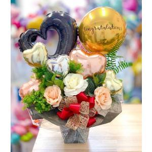 お祝い 開店祝い バルーン電報 バルーンギフト 結婚のお祝いにも|sweetflower