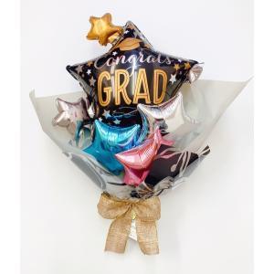 バルーンブーケ 卒業 卒業祝い メッセージ無料 sweetflower
