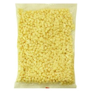(PB)丸菱 プロセスダイスチーズ 8mm 1kg サイコロチーズ(冷蔵)|sweetkitchen