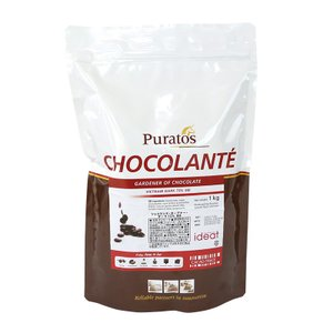 (PB)丸菱 製菓用チョコレートショコランテガーデナー ダークチョコレート62% 1kg(夏季冷蔵) sweetkitchen
