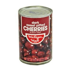 アメリカ産 ミシガン ダークスウィートチェリー缶詰 ヘビーシラップ 4号缶 411g(常温)