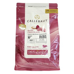 カレボー  ルビーチョコレート  RB1(業務用) 1.5kg(夏季冷蔵)