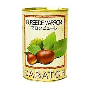 SABATON サバトン マロンピューレ 435g