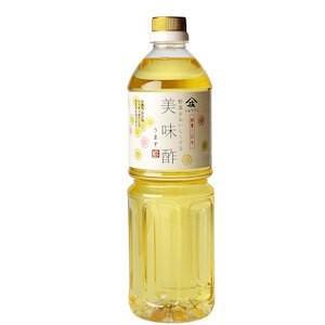 佳い食 庄分酢 美味酢 佳い酢 1L (無添加、化学調味料不使用)  【常温】
