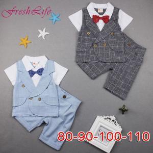 男の子スーツ ベビー 韓国子供服 フォーマル 男の子 半袖 ...
