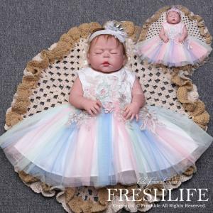 ベビードレス 結婚式 ベビーワンピース セレモニードレス 新生児 お呼ばれ 七五三 赤ちゃん ドレス...