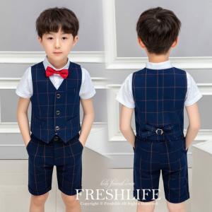 商品コード:fl6-suit84 カラー:ネイビー 素材:綿 ポリエステル セット内容: 4点セット...