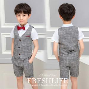 商品コード:fl6-suit85 カラー:グレー 素材:綿 ポリエステル セット内容: 4点セット(...