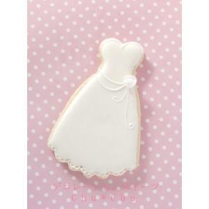 【アイシングクッキー】ウエディングドレス10枚|sweets-chuchu