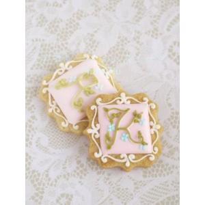 【イニシャルプレート】イニシャルプレート 10セット|sweets-chuchu