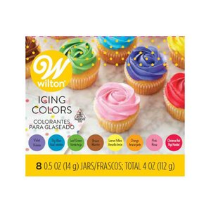 ウィルトン アイシングカラー8色セット 【100-01-003 】 sweets-chuchu