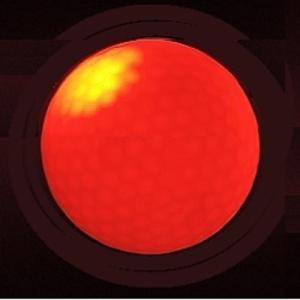 選べる光るゴルフボール(赤色、青色、オレンジ色、緑色、マルチカラー、連続点灯タイプ、点滅タイプ)/golf-06 お買い得