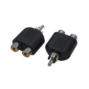 変換名人 AVプラグ RCA(メス)2P to RCA(オス)モノラル AV/RCA2J-RCAPM(2P)