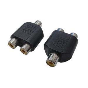 変換名人 AVプラグ RCA(メス)2P to RCA(メス)モノラル AV/RCA2J-RCAJM(2P)