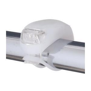 自転車用LEDライト(シリコン製) 日亜製白色LED×2灯