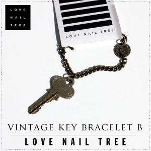 love nail treeラブネイルツリー key ビンテージキーブレスレットB【1000円セール】|sweetstyle