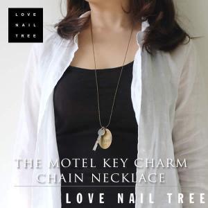 love nail treeラブネイルツリー ビンテージ風 キーチャームチェーンネックレス【1000円セール】|sweetstyle