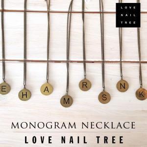 love nail treeラブネイルツリーイニシャル チェーンネックレス【1000円セール】|sweetstyle