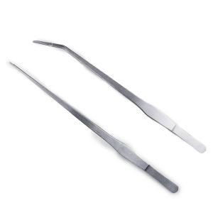 あると絶対便利!!様々な用途に使えるロングピンセット(27cm)です。 ストレートピンセット + 先...