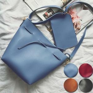 秋冬新作 着せ替え紐付き ショルダーバッグ 巾着バッグ パスケース付き バッグ BAG 鞄 レディース 【ka-105】|swift