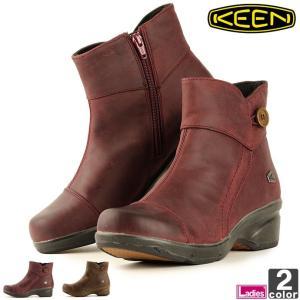 ショートブーツ キーン KEEN レディース ブーツ モラ ミッド ボタン 1014102 1014...