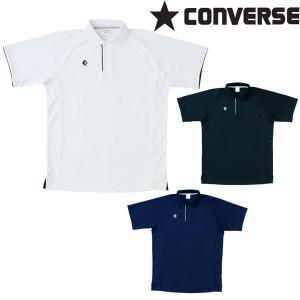 半袖ポロシャツ コンバース CONVERSE メンズ CB28401 トップス スポーツ アウトドア|swimclub-grasshopper