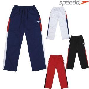 ロングパンツ スピード SPEEDO メンズ カラーブロック ウインドロングパンツ SD12G12 トレーニング|swimclub-grasshopper