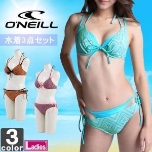 オニール/O'NEILL レディース スイムスーツ 3点セット 664802 1708 ウィメンズ 婦人|swimclub-grasshopper