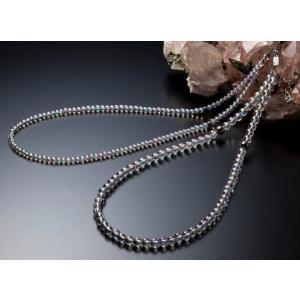 《送料無料》phiten (ファイテン) チタン水晶ネックレス +5cmアジャスター  AQ814053 1607 swimclub-grasshopper