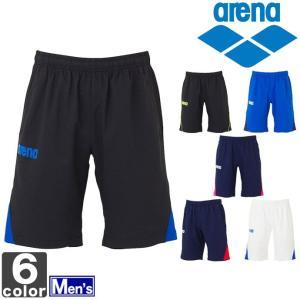 アリーナ/arena メンズ クロス ハーフパンツ ARN-4302P 1501 紳士 swimclub-grasshopper
