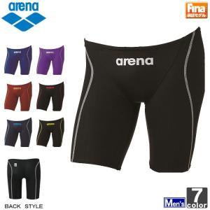 アリーナ/arena  メンズ ハーフスパッツ ARN-7022M 1701 紳士 男性 FINA承認モデル swimclub-grasshopper